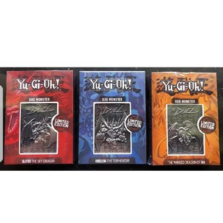 コナミ(KONAMI)の遊戯王 三幻神 金属製カード シルバー 限定5000個(シングルカード)