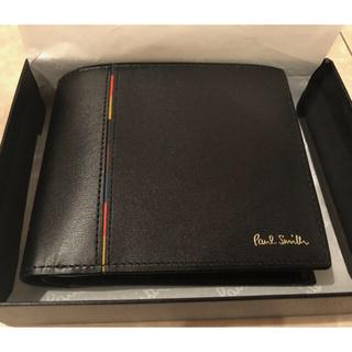 《新品未使用 箱付》ポールスミス 二つ折り財布