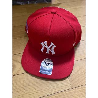シュプリーム(Supreme)の Supreme NewYork Yankees 47brand Cap (キャップ)