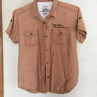 バックナンバー(BACK NUMBER)のベージュ シャツ(Tシャツ(半袖/袖なし))