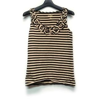 ケイトスペードニューヨーク(kate spade new york)のケイトスペード ノースリーブTシャツ S -(Tシャツ(半袖/袖なし))
