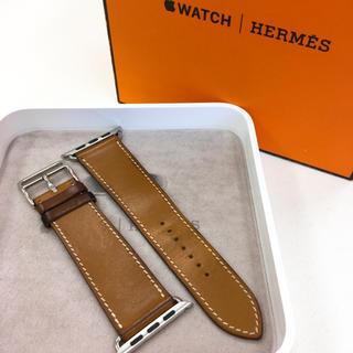 アップルウォッチ(Apple Watch)のアップルウォッチ 用 Apple Watch 42mm用 エルメス レザーベルト(その他)