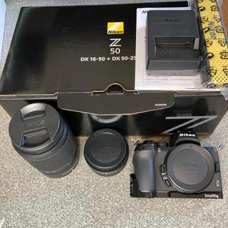 Nikon - Nikon z50 ダブルズームキット+L型プレート