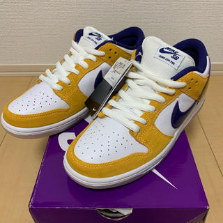 ナイキ(NIKE)のNIKE SB  DUNK LOW PRO LASER ORANGE 26.5(スニーカー)
