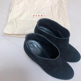 マルニ(Marni)のマルニ ショートブーツ(ブーツ)