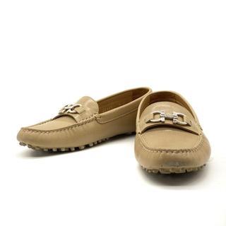 サルヴァトーレフェラガモ(Salvatore Ferragamo)のフェラガモ ローファー ドライビングシューズ レザー ガンチーニ金具(ローファー/革靴)