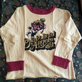 ヒステリックグラマー(HYSTERIC GLAMOUR)のヒステリックグラマー 長袖 Tシャツ 100 サイズ キッズ(Tシャツ/カットソー)