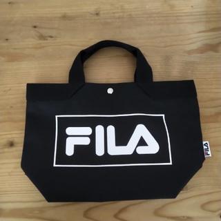 FILA - FILA フィラ トートバッグ ブラック