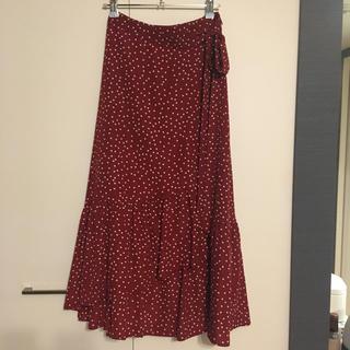 アンレリッシュ(UNRELISH)の水玉スカート(ひざ丈スカート)
