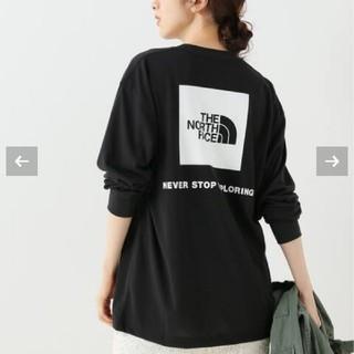 イエナスローブ(IENA SLOBE)のa-chan♡様専用 THE NORTH FACE ロゴロングスリーブTシャツ(Tシャツ(長袖/七分))