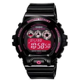 ジーショック(G-SHOCK)のCASIO カシオ G-SHOCK MINI Gショックミニ ブラック/ピンク(腕時計)