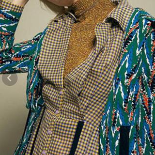 トーガ(TOGA)のakane utsunomiya  ビッグカラージャケット シャツ 36(シャツ/ブラウス(長袖/七分))