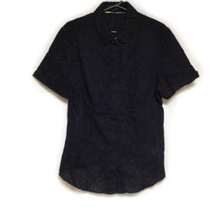 バーバリー(BURBERRY)のバーバリーロンドン 半袖シャツブラウス 44(シャツ/ブラウス(半袖/袖なし))