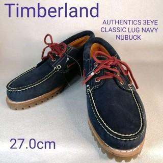 ティンバーランド(Timberland)の新品 Timberland ティンバーランド  27cm ネイビーヌバック(スリッポン/モカシン)