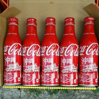コカコーラ(コカ・コーラ)のコカ・コーラスリムボトル 沖縄(その他)