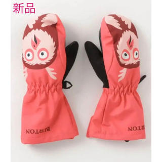 バートン(BURTON)の新品☆Burton KIDS トドラー ミトン 手袋 グローブ ピンク 4T(手袋)