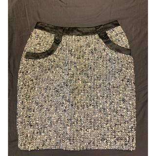 マルティニークルコント(martinique Le Conte)のほぼ未使用 マルティニーク  スカート(ひざ丈スカート)