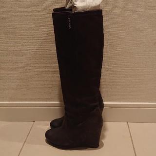 プラダ(PRADA)のPRADAロングブーツ(ブーツ)