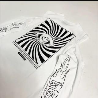 ミルクボーイ(MILKBOY)の新品♡KRY「MEMAI T」ホワイト(Tシャツ(長袖/七分))