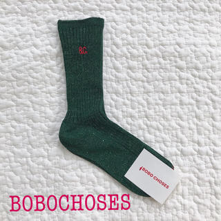 ボボチョース(bobo chose)の【新品】ボボ bobochoses キッズ 靴下 ソックス(靴下/タイツ)