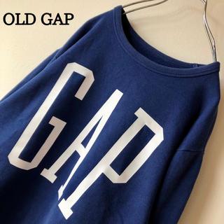 GAP - 【でかロゴ】OLD GAP オールドギャップ ビックロゴ スウェット トレーナー