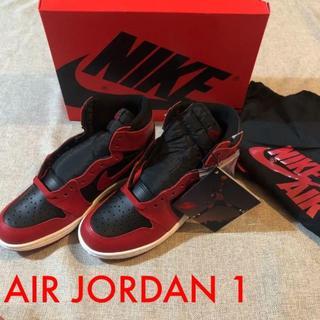 NIKE AIR JORDAN 1 HIGH '85 VARSITY RED(スニーカー)