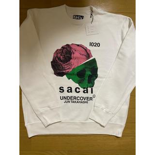 サカイ(sacai)のsacai undercover sweat crewneck L WHITE(スウェット)
