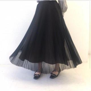 TSURU by Mariko Oikawa - ツルバイマリコオイカワ プリーツスカート