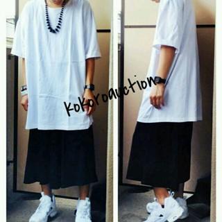 ビッグTシャツ白 ストリート B-BOY(Tシャツ/カットソー(半袖/袖なし))