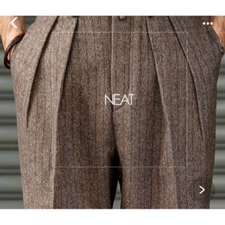 COMOLI - neat  Felting Flannel Chalk Stripe サイズ44