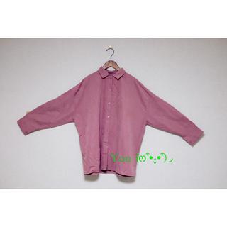 ホッピン(HOTPING)の韓国 秋服 大きいサイズ フリーサイズ ブラウス オーバーサイズ(シャツ/ブラウス(長袖/七分))