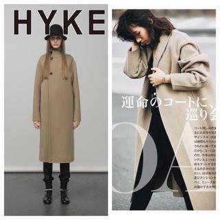 HYKE - HYKE ハイク ウールコート