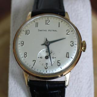 スミス(SMITH)の極美品スミス アストラル smiths astral 9K OH済 手巻(腕時計(アナログ))