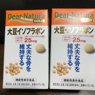 アサヒ - Dear–Natura 大豆イソフラボン 30粒x2箱 楽天カード決済でお得に