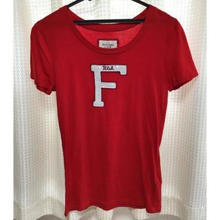 アバクロンビーアンドフィッチ(Abercrombie&Fitch)のアバクロ A&F レディース Tシャツ Mサイズ(Tシャツ(半袖/袖なし))