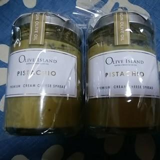 OLIVE lSLAND  ピスタチオ クリームチーズスプレッド2個(缶詰/瓶詰)