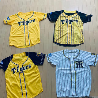 ハンシンタイガース(阪神タイガース)の阪神タイガース  メッシュジャージ 4枚セット 未着用(応援グッズ)