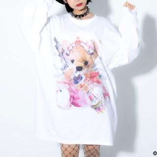 ミルクボーイ(MILKBOY)のトラバストーキョー💖Furry bearロンTGatlin G U ver(Tシャツ(長袖/七分))