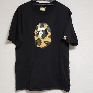 A BATHING APE - A BATHING APE Tシャツ 黒 XLサイズ 2020年福袋