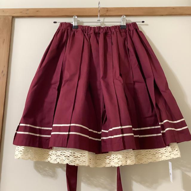 ALICE and the PIRATES(アリスアンドザパイレーツ)の新品タグ付き mam セーラースカート レディースのスカート(ひざ丈スカート)の商品写真