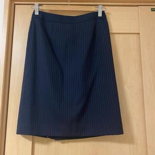 グリーンレーベルリラクシング(green label relaxing)のスーツ スカート(ひざ丈スカート)