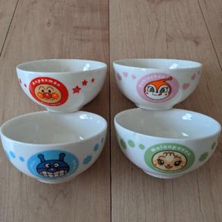 アンパンマン(アンパンマン)のアンパンマン お茶碗 4個セット(食器)
