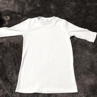 ゴゴシング(GOGOSING)のリブトップス(Tシャツ(半袖/袖なし))