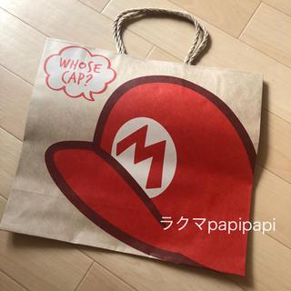 ユニバーサルスタジオジャパン(USJ)のmomさま専用 USJ限定 マリオ 紙袋2枚(ショップ袋)