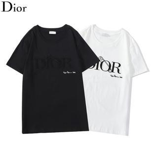Christian Dior - 刺繍✨\2枚7500/ディオールDIOR半袖Tシャツペアルック#19