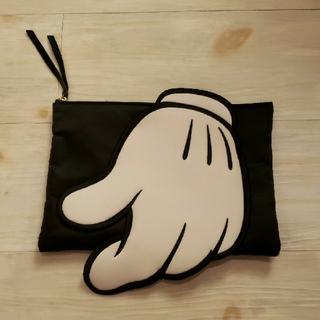 マウジー(moussy)の完全予約制商品MOUSSYとDisneyのコラボ☆ミッキーの手付きクラッチバッグ(クラッチバッグ)