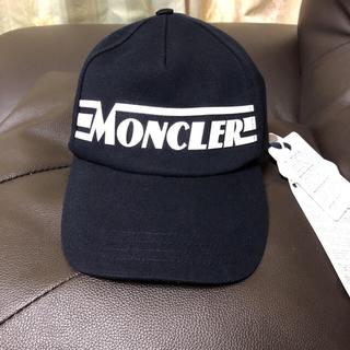 モンクレール(MONCLER)の完売品 新品 モンクレール キャップ 帽子(キャップ)