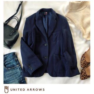 ユナイテッドアローズ(UNITED ARROWS)のユナイテッドアローズ テーラードジャケット ジャケット ネイビー(テーラードジャケット)