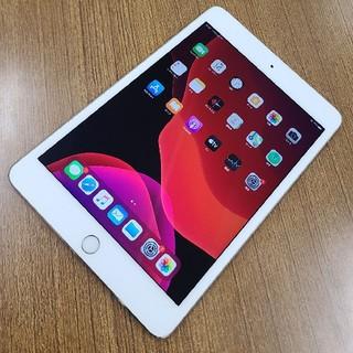 アイパッド(iPad)のApple iPad mini 4 16GB シルバー Cellular 中古(タブレット)