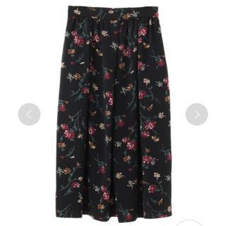 エンフォルド(ENFOLD)の新品  CLANE   アンティークフラワースカート (ロングスカート)